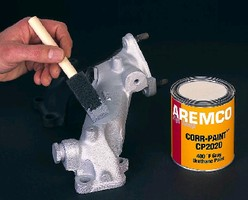Coating provides high-temperature corrosion resistance.
