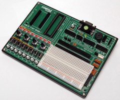 PLC-on-a-Chip is programmable in Basic and Ladder Logic.