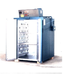 Cabinet Oven is used to cure coatings.