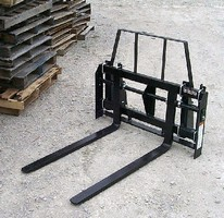 Rod Style Pallet Fork targets compact tractor market.