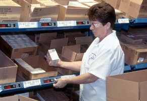 Inventory Control Software aids in order picking efficiency.
