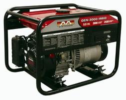 Generator features 3,000 W maximum output.