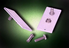 Mounted Permanently in Thin Metal Sheets: PEM® Concealed-Head Clinch Studs and Standoffs Promote Flush Assemblies