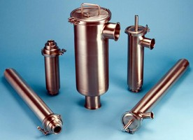 Sanitary Strainers come in inline and side inlet versions.