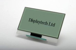 Chip On Glass Displays suit mobile applications.