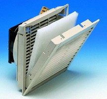 Fans provide thermal management of electronic enclosures.