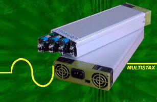 AC-DC Power Supplies provide up to 1,200 W output.