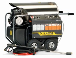 Landa Electric-Driven Hot Water Pressure Washer Has Proven Record