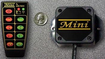Radio Remote Controls maintain 300+ ft range.