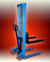 Manual Stackers Are Economical Alternative To Forklifts