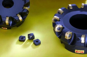 Face Milling Cutter machines cast iron.