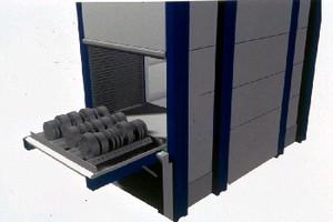 Vertical Lift Module provides die storage and retrieval.