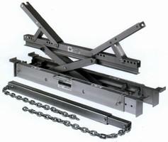 Conveyor Belt Lifter carries 4,000 lb safe lift rating.