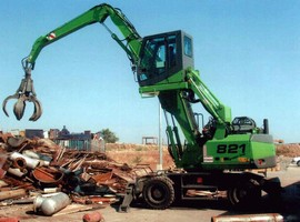 Material Handlers are maneuverable in confined work spaces.