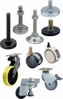 Glides and Casters are NSF certified and RoHS compliant.