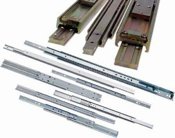 Drawer Slides suit light or heavy-duty applications.