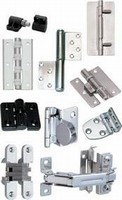 Hinges are self-lubricating and come in 3 sizes.