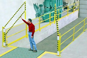 Fall Protection Systems lend safety to loading areas.