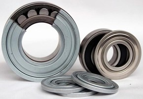 Steel Disk Seals protect bearings from contaminants.