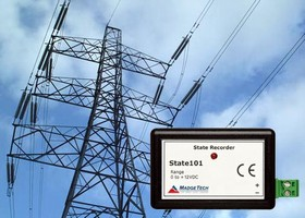 Current Relay Switches record on/off status signal.