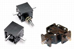 Right Angle Gear Drives offer 1:1 or 2:1 gear ratios.