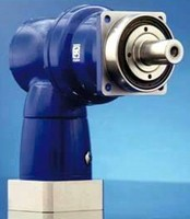 Right Angle Gearhead suits high torque applications.