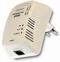 Ethernet Adapter enables high-speed powerline networking.