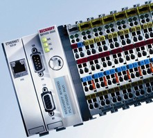 Bus Terminal Controller offers integrated PLC functionality.