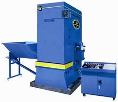 Metal Compactor/Briquetter minimizes coolant use and waste.