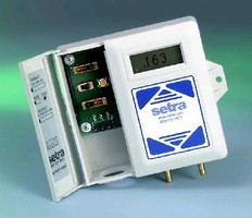 Low Differential Pressure Transducer offers 1% FS accuracy.