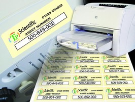 Asset Identification Labels are offered in full color.