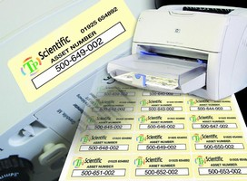 Color Labels are designed for industrial use.