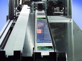 Plastic Card Inspection System is capable of batch counting.