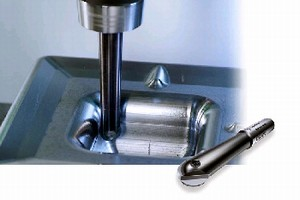 Ball Nose Finishing Endmill targets die and mold industry.
