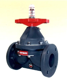 Diaphragm Valves withstand corrosive environments.