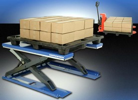 Manual Palletizer facilitates loading/unloading process.