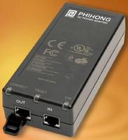 PoE Adapter provides 60 W on single Ethernet port.