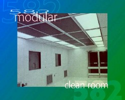 Modular Cleanrooms suit space-restricted environments.