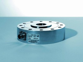Force Transducer measures tensile and compressive forces.