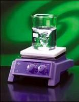 Magnetic Stirrer Hotplate features spillproof design.