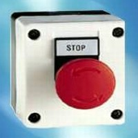 Emergency Stop Switches are NEMA 4, 4X, and IP65 rated.