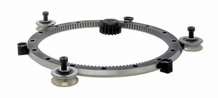 Heavy Duty Track System withstands loads up to 8,992 lb.