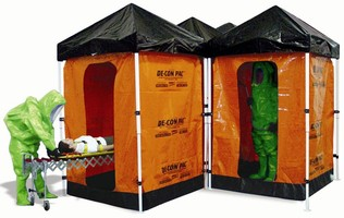 Decontamination System features 10 ft long liner.