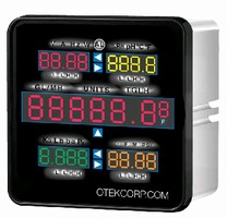 Process Controller replaces 30 individual meters.