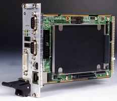 CompactPCI Controller features ULP Intel Celeron processor.