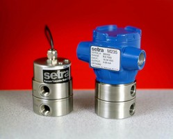 SETRA's Inductive Sensing Transducer is High Pressure Answer for Test Stand Manufacturer