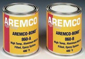 Thermally Conductive Epoxy works in temperatures to 400°F.