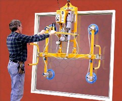 Vacuum Lifters feature powered tilt.
