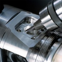 Endmill is suited for finishing in hardened steels.