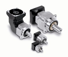 Gearheads attach directly to servo and stepper motors.